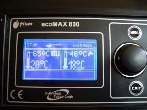 Solid Fuel Boiler Computer Regulator