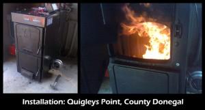 Quigleys Point Installation