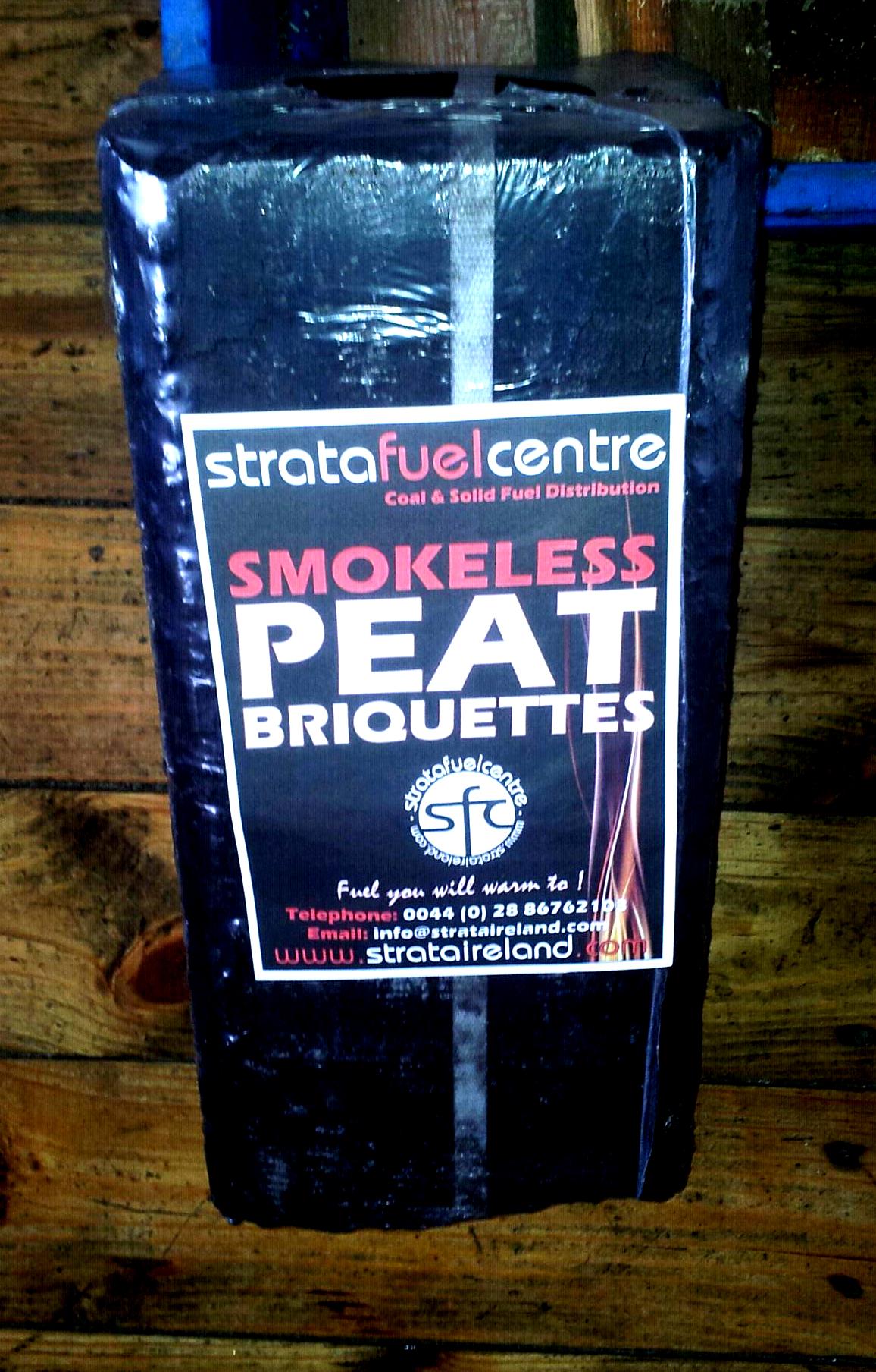 Peat Briquettes Strata Ireland