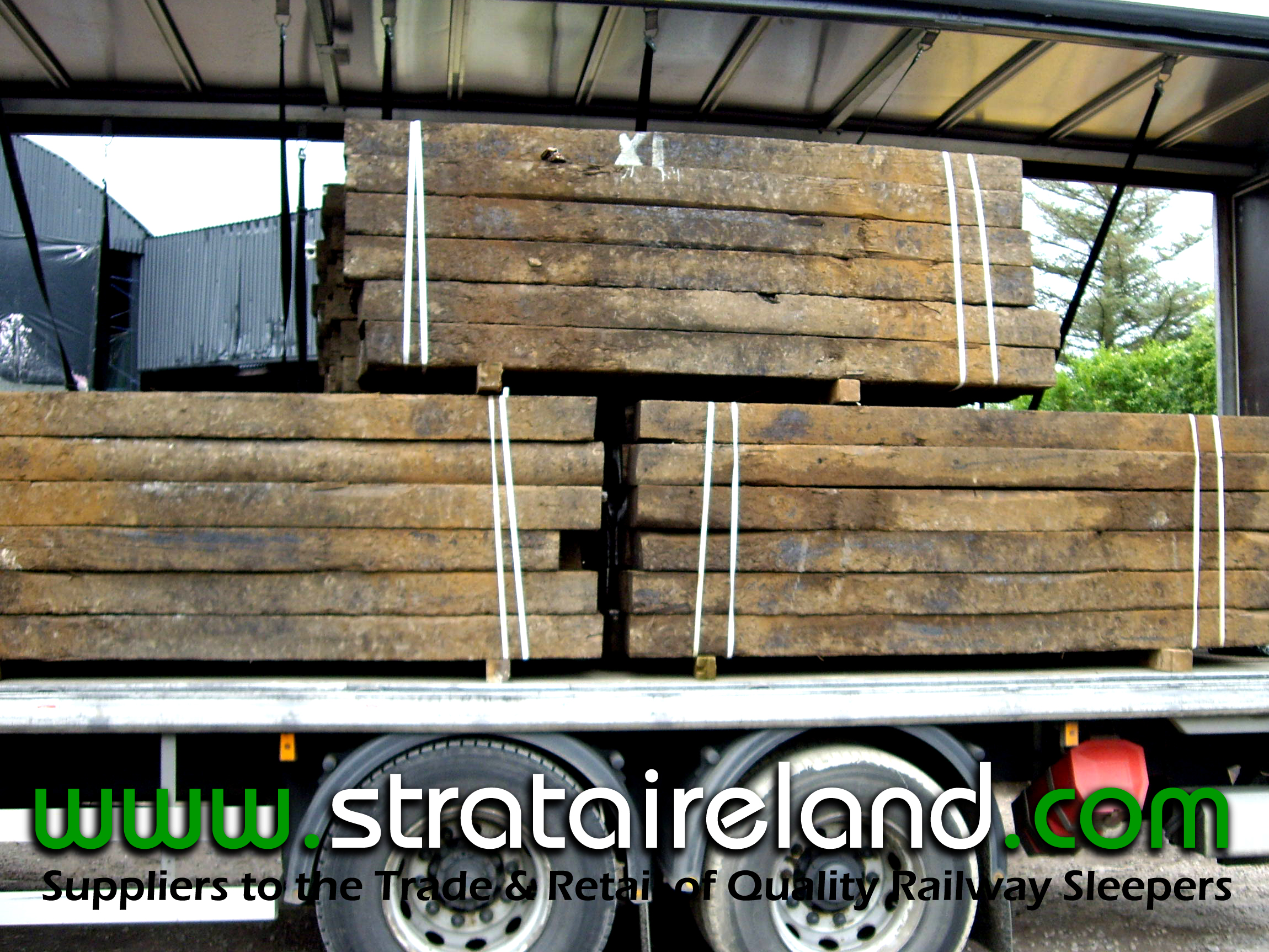 Railway Sleepers Full Load