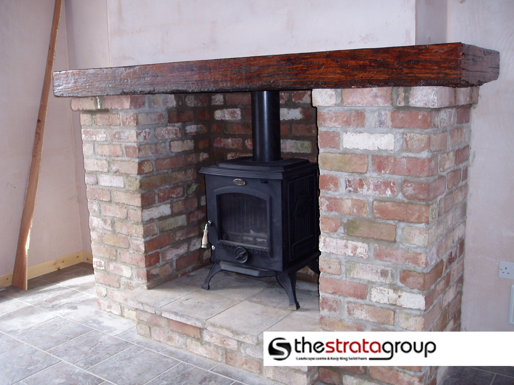 Handcrafted Railway Sleeper Mantlepieces 171 The Strata