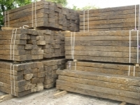 European Pine Railway Sleepers
